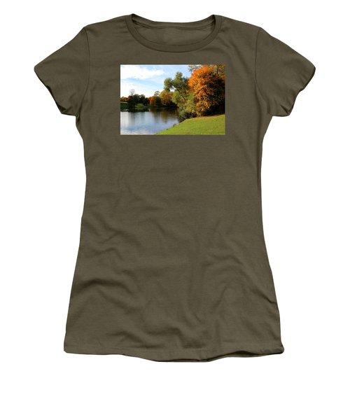 Scandinavian  Autumn  Women's T-Shirt (Athletic Fit)