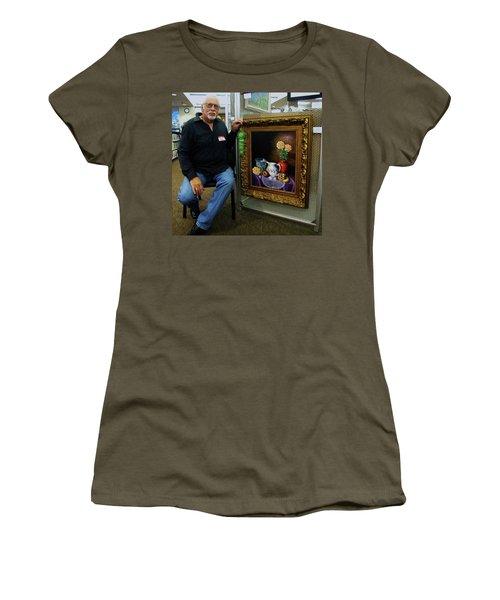 Nostalgic Vision  Women's T-Shirt (Junior Cut) by Gene Gregory