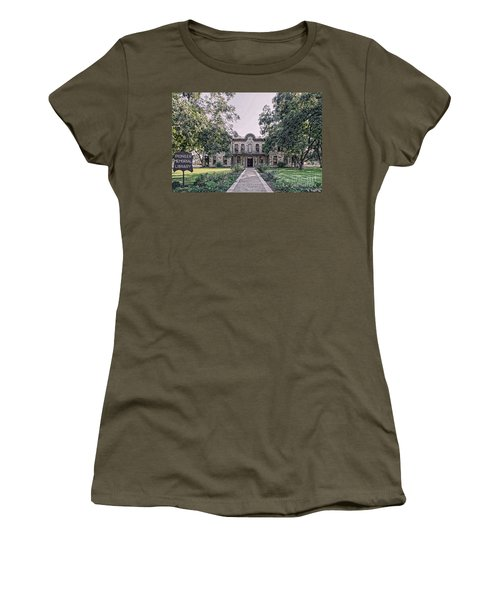 Old Gillespie County Courthouse Women's T-Shirt (Athletic Fit)