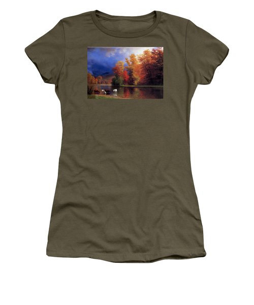 On The Saco Women's T-Shirt (Athletic Fit)