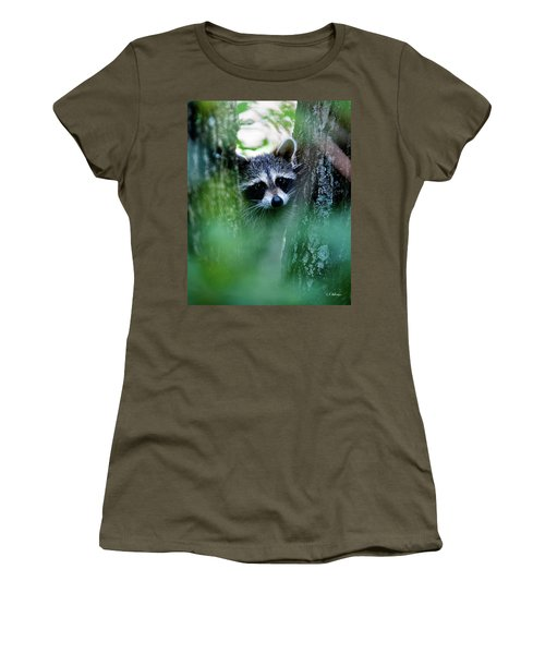 Women's T-Shirt featuring the photograph On Watch by Christopher Holmes