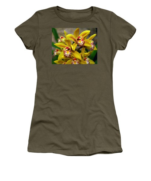 Orchid 9 Women's T-Shirt (Athletic Fit)