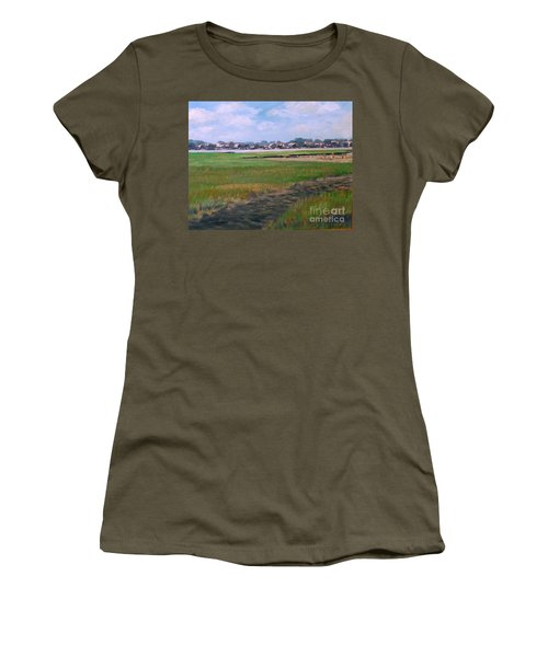 New England Shore Women's T-Shirt (Athletic Fit)