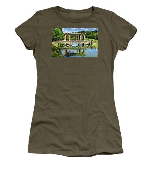 Palladian Bridge Nature Scene Women's T-Shirt