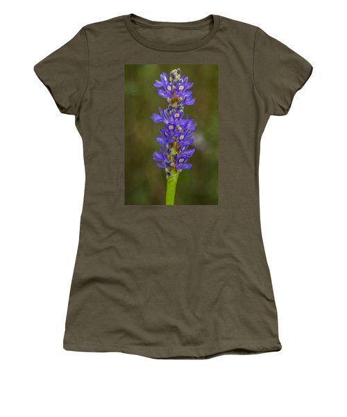 Pickerel Weed Women's T-Shirt (Junior Cut) by Christopher L Thomley