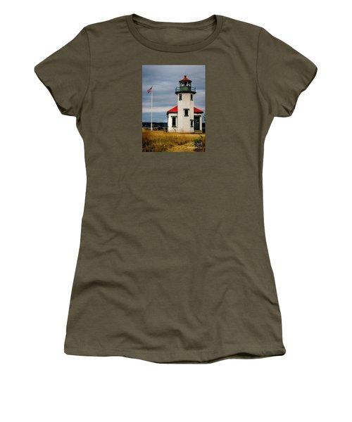 Point Robinson  Lighthouse,vashon Island.wa Women's T-Shirt