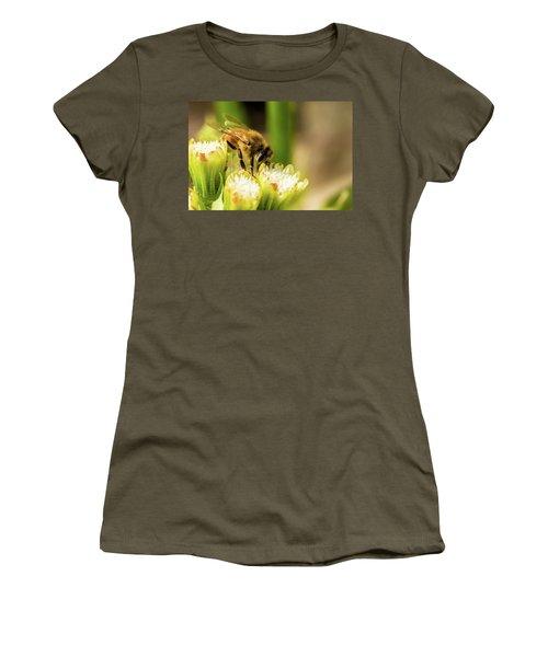 Pollen Collector  Women's T-Shirt (Junior Cut) by Jay Stockhaus