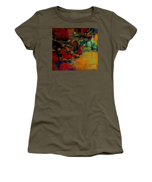 Ranoush Painted Women's T-Shirt (Junior Cut) by Kelly Awad