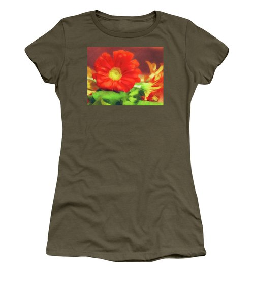 Red Flower Women's T-Shirt