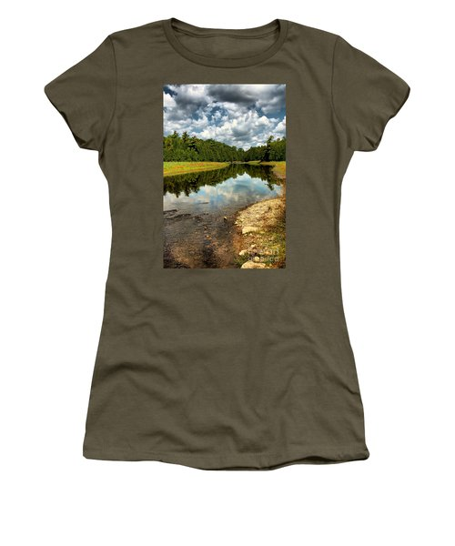 Reflection Of Nature Women's T-Shirt (Athletic Fit)