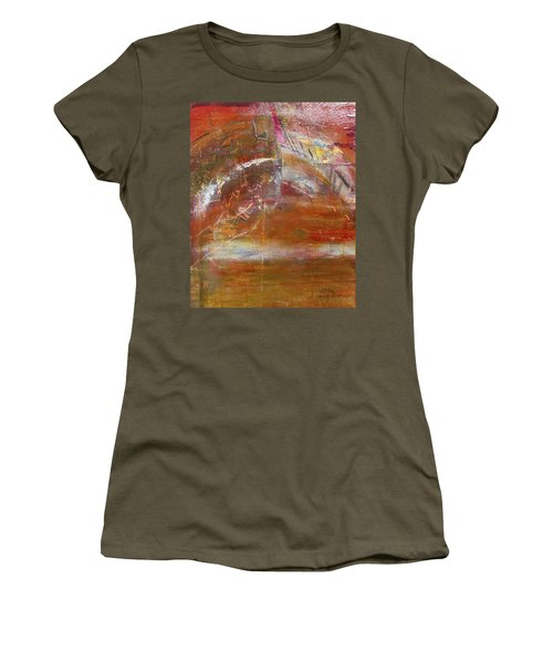 Rusty Rainbow Women's T-Shirt (Athletic Fit)