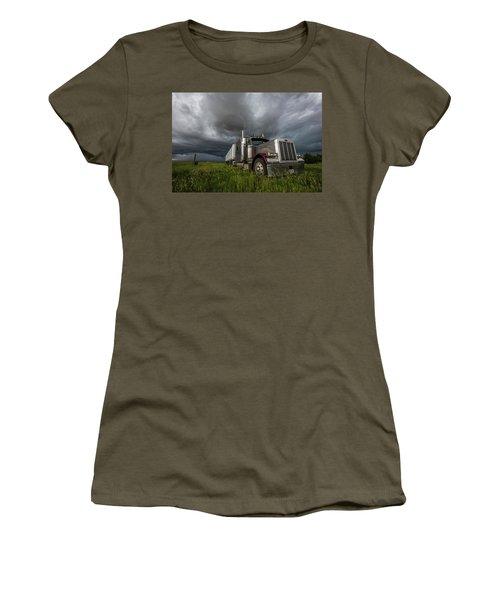 Soul Of A Trucker  Women's T-Shirt