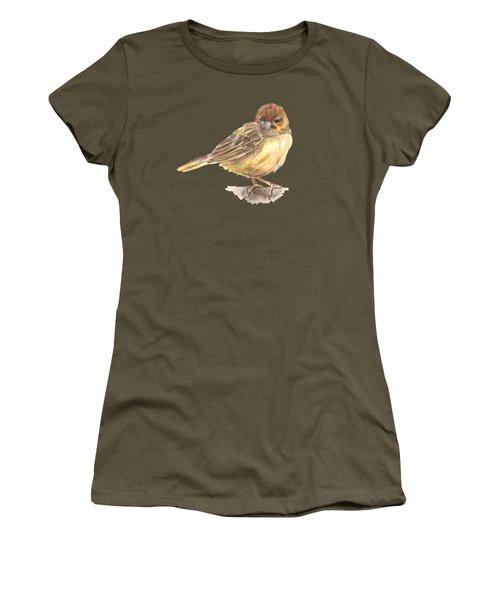 Sparrow Women's T-Shirt (Junior Cut) by Katerina Kirilova