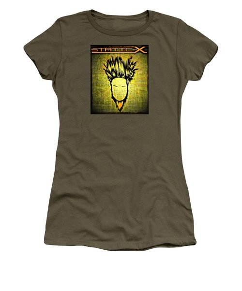 Static-x Women's T-Shirt (Athletic Fit)