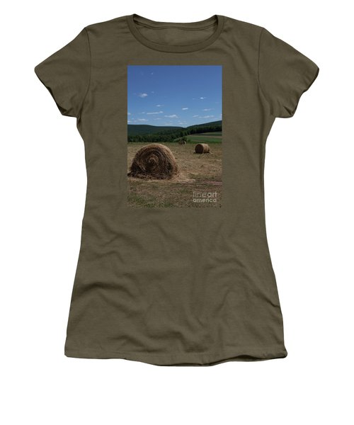 Straw Bales Women's T-Shirt