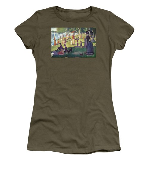Sunday Afternoon On The Island Of La Grande Jatte Women's T-Shirt (Athletic Fit)