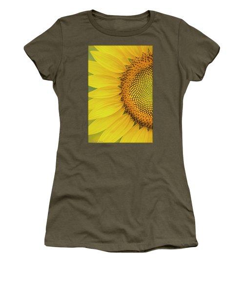 Sunflower Petals Women's T-Shirt (Athletic Fit)