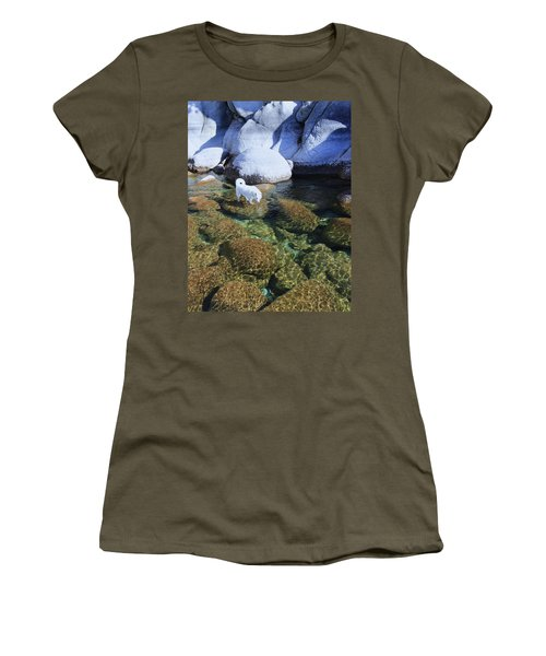 Women's T-Shirt (Athletic Fit) featuring the photograph Tahoe Wild  by Sean Sarsfield