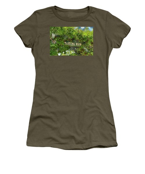 Tasting Room Sign Women's T-Shirt