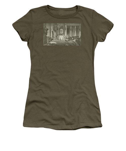 The Death Of Julius Caesar Women's T-Shirt