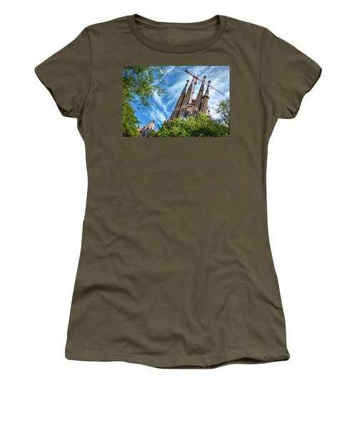 The Sagrada Familia Women's T-Shirt