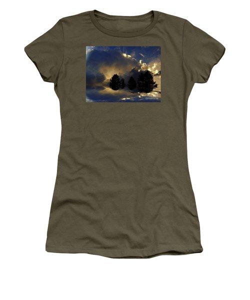 Tumultuous Women's T-Shirt (Junior Cut) by Elfriede Fulda