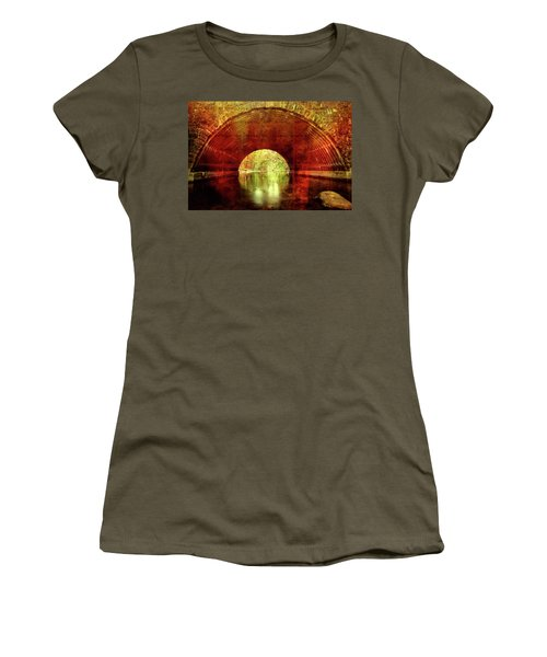 Women's T-Shirt (Athletic Fit) featuring the photograph Tunnel Vision by Alan Raasch