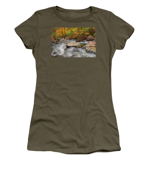 Tye River Women's T-Shirt (Junior Cut) by David Cote
