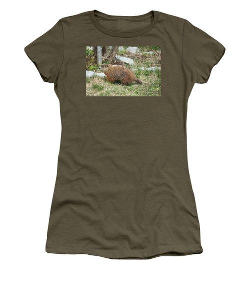 Visitor  Women's T-Shirt (Junior Cut) by Vicky Tarcau