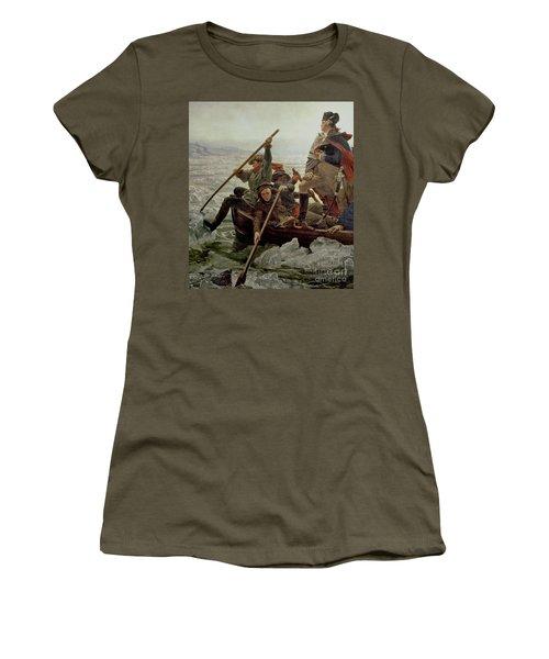 Washington Crossing The Delaware River Women's T-Shirt