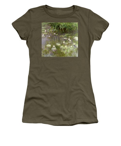 Waterlilies At Midday Women's T-Shirt