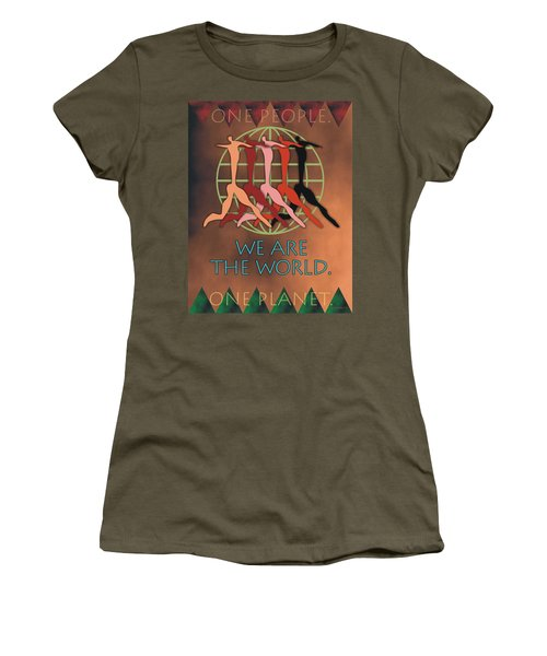 We Are The World Women's T-Shirt