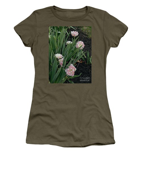 Women's T-Shirt (Junior Cut) featuring the photograph We're Over Here by Nancy Kane Chapman
