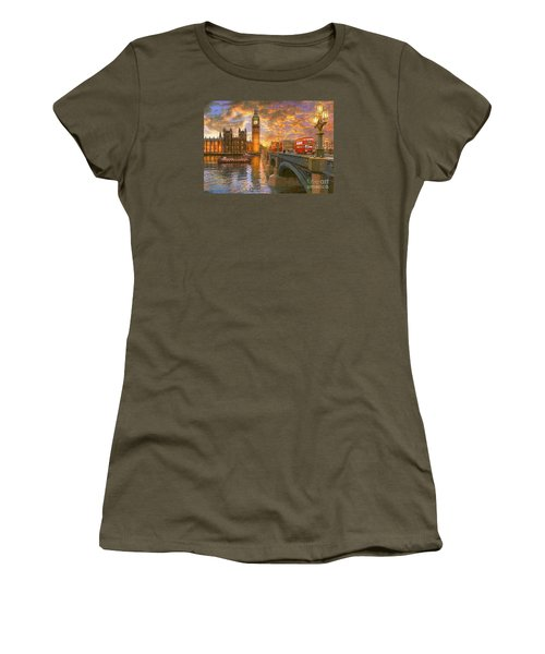 Westminster Sunset Women's T-Shirt (Athletic Fit)