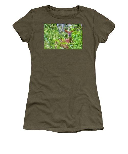 White-tailed Deer Women's T-Shirt