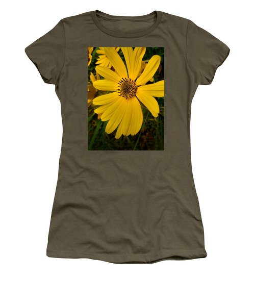 Wild Yellow Women's T-Shirt (Athletic Fit)