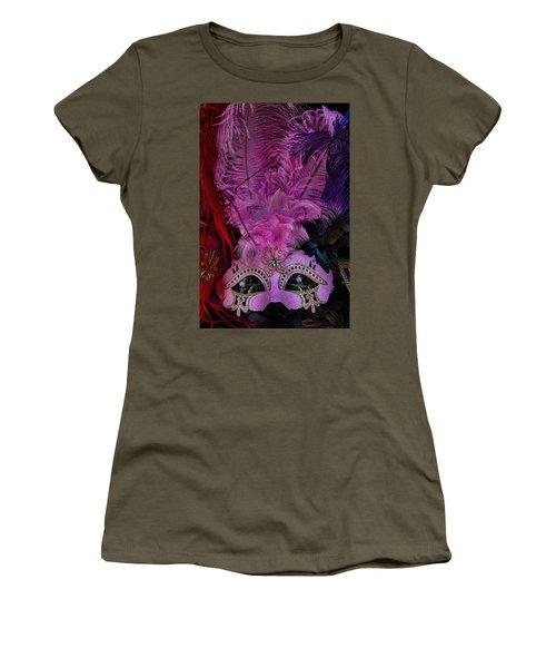 Venetian Carnaval Mask Women's T-Shirt