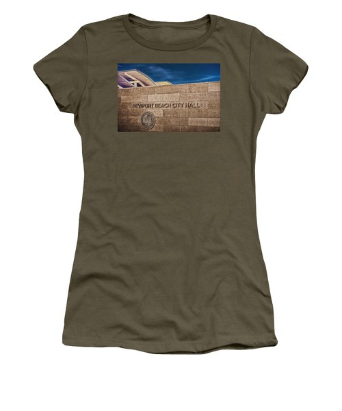 Women's T-Shirt (Junior Cut) featuring the photograph 135 To 237 Million Dollars Give Or Take by TC Morgan