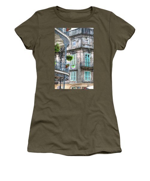 1358 French Quarter Balconies Women's T-Shirt