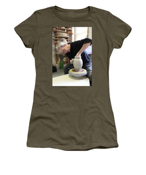 Pottery Wheel, Sequence Women's T-Shirt
