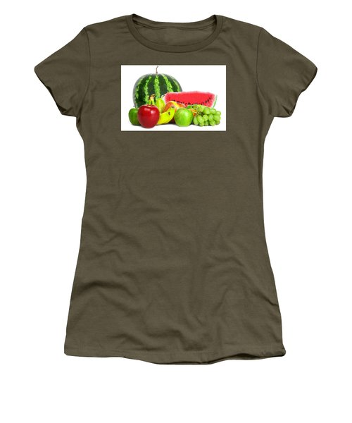 Fruit Women's T-Shirt (Athletic Fit)