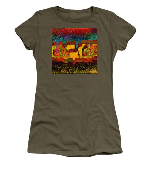 1732 Abstract Thought Women's T-Shirt (Athletic Fit)