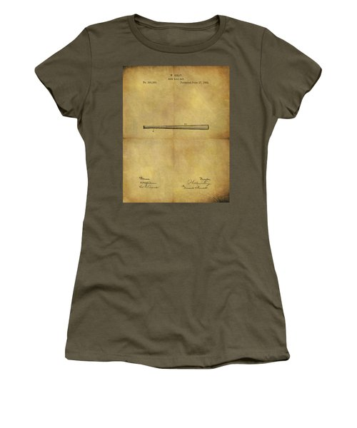 1884 Baseball Bat Illustration Women's T-Shirt