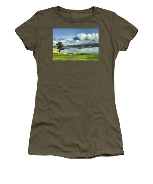 18th Hole Pebble Beach 2 Women's T-Shirt