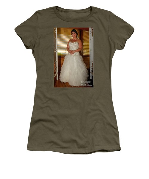 Faulkner Wedding Women's T-Shirt (Athletic Fit)