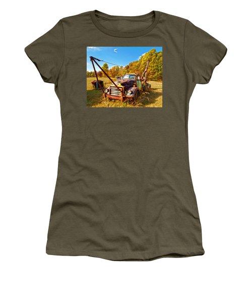 1950 Gmc Truck Women's T-Shirt