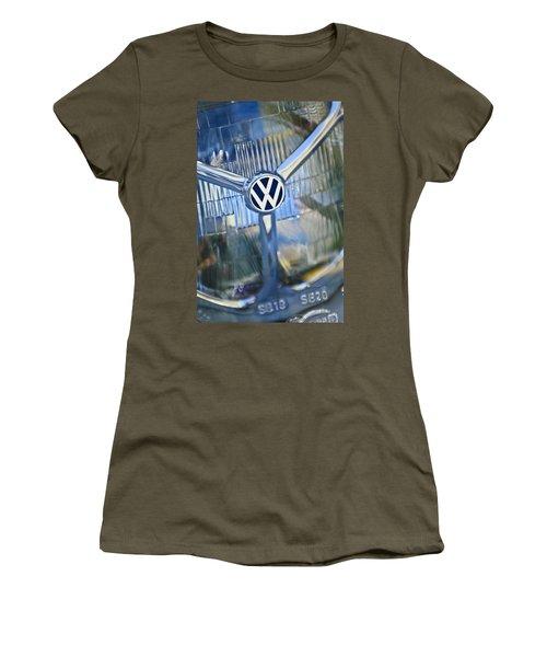 1956 Volkswagen Vw Bug Head Light Women's T-Shirt