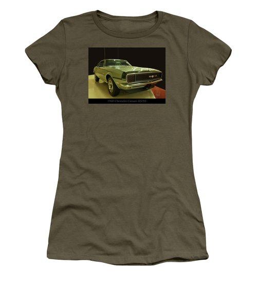 1968 Chevy Camaro Rs-ss Women's T-Shirt