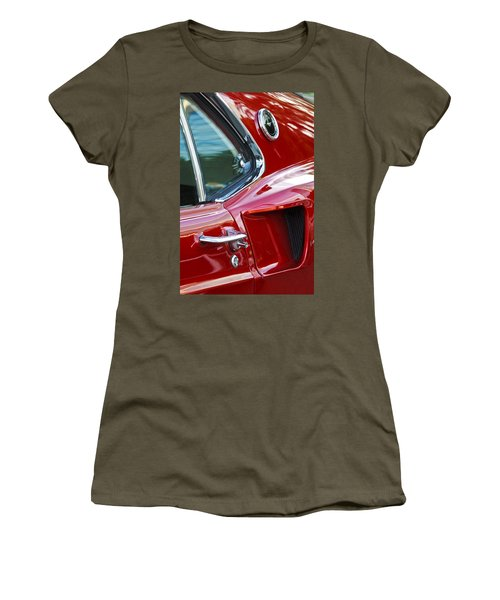 1969 Ford Mustang Mach 1 Side Scoop Women's T-Shirt