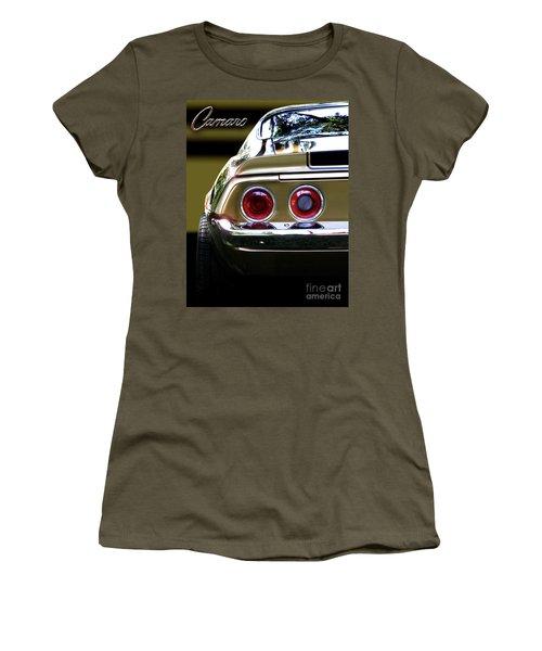 1970 Camaro Fat Ass Women's T-Shirt (Junior Cut) by Peter Piatt